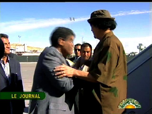 صور العقيد عبدالله السنوسي اليد اليمنى للزعيم الليبي