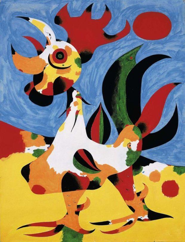 الفنان الأسباني خوان ميرو