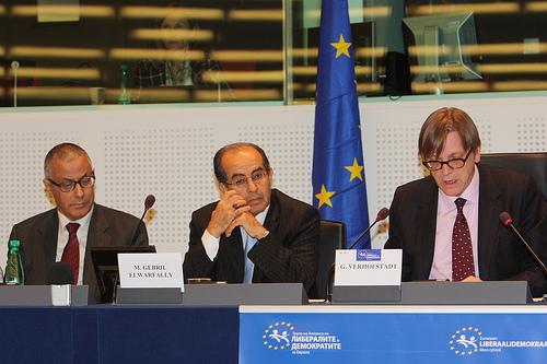 Libyan National Transitional Council [MEETING] Strasbourg
